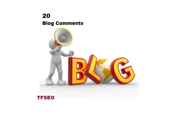Add 20 Blog Comment of your Web Site in short time