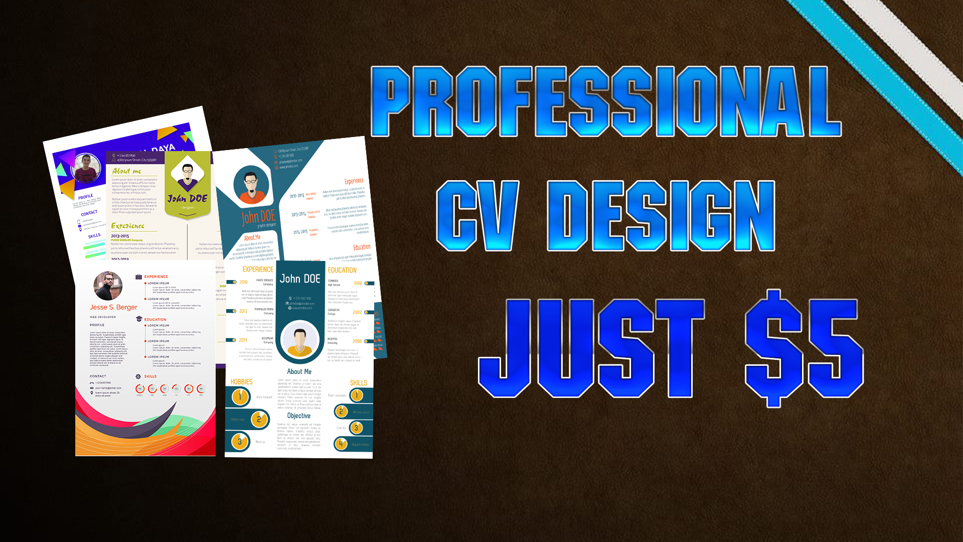 Create Professional CV Design