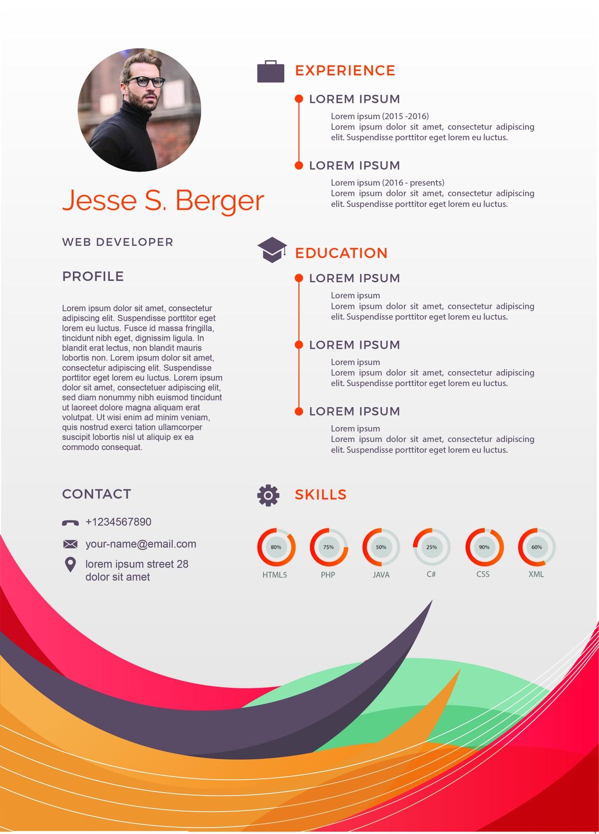 Create Professional CV Design
