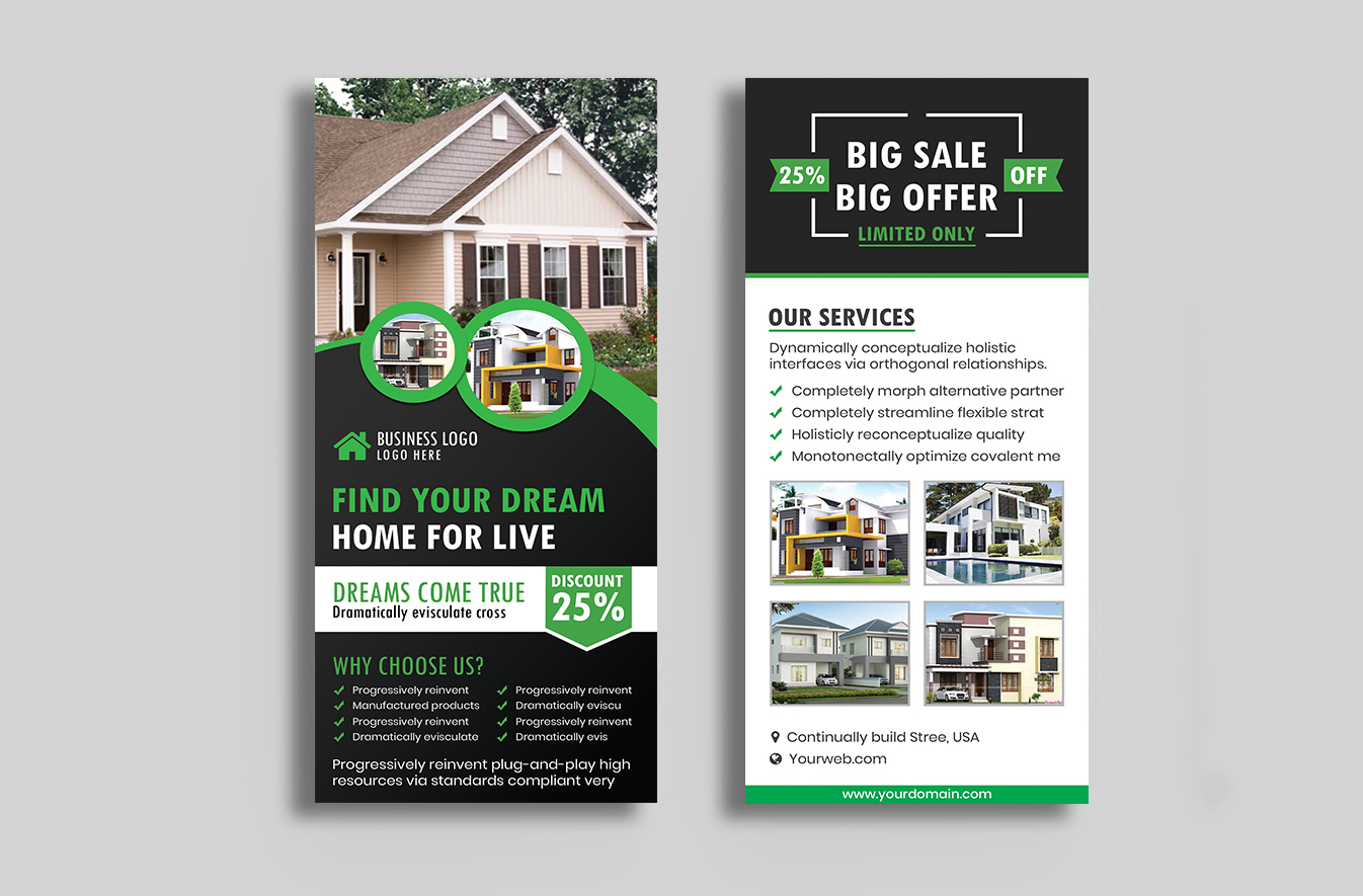 Design Amazing Rack Card Or Dl Flyer In 24 Hours