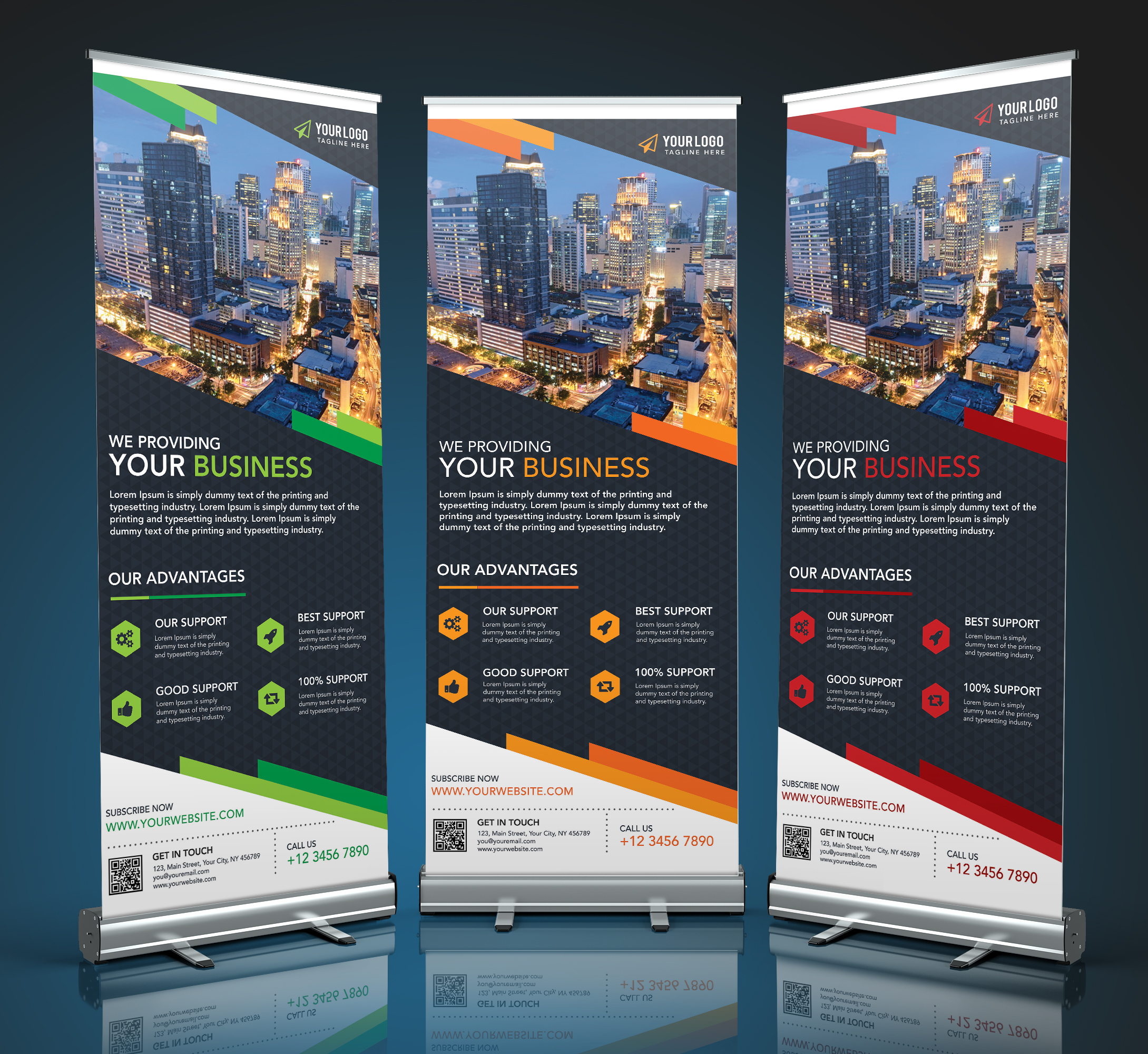 Design Eye Catching Roll Up Banner In 24 Hours