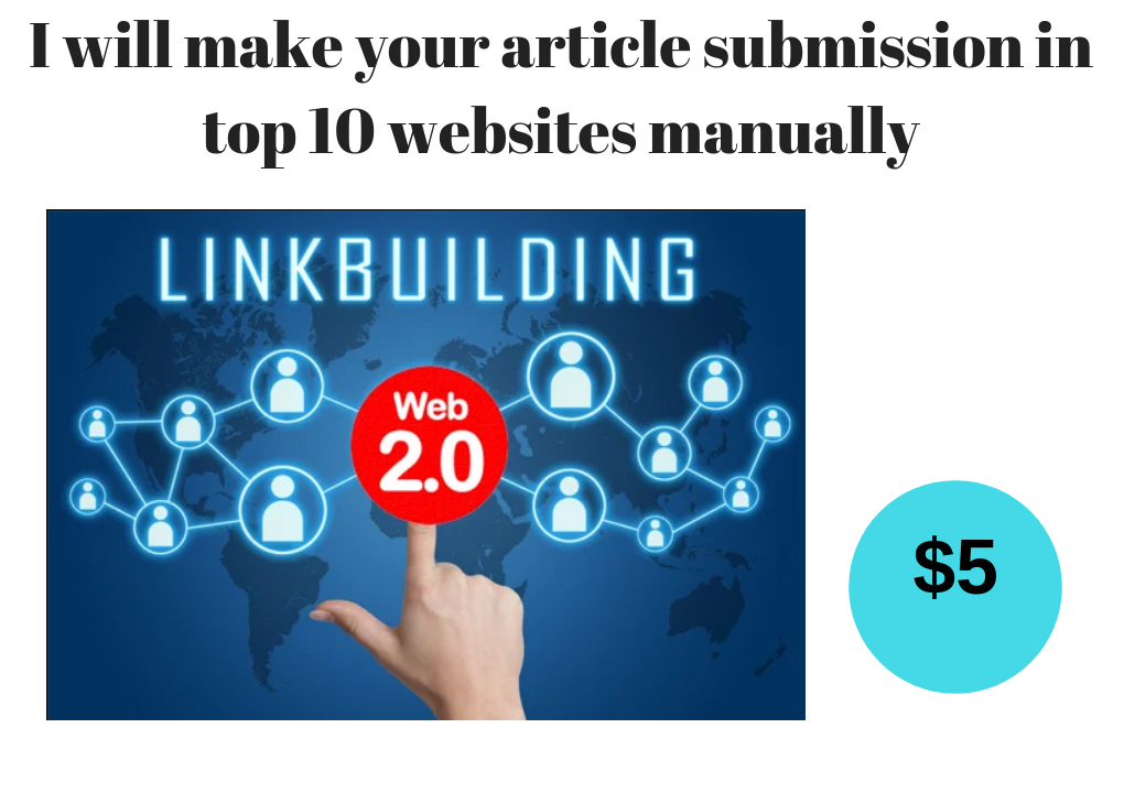 Submit your article in top 10 websites