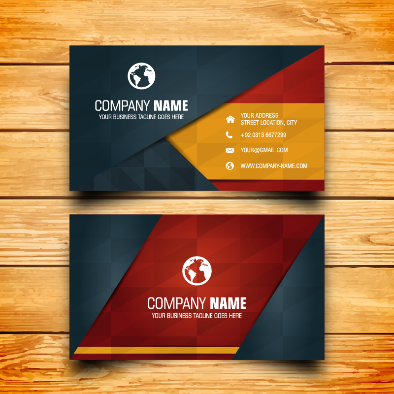 Do you have professional and interesting business cards?