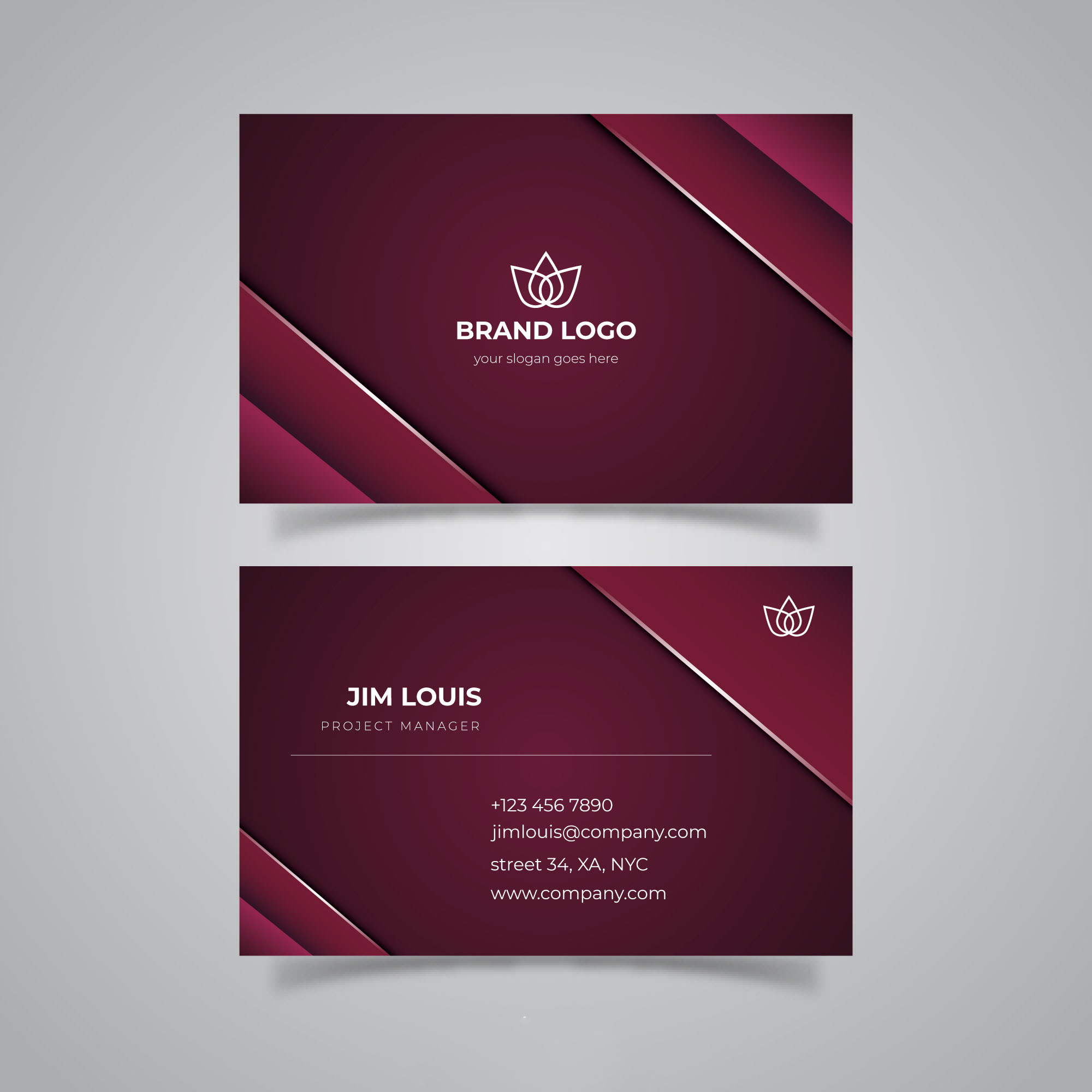 Design Professional Business Card Within 1days