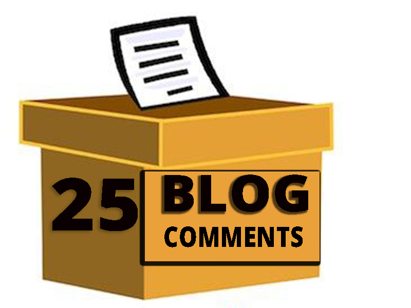 Provide 25 HQ Auto Approve Niche Relevant blog commen...