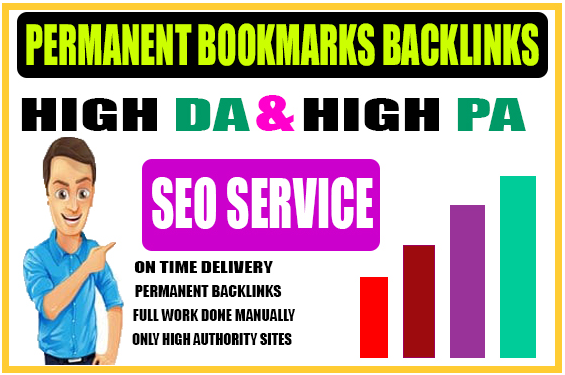 Top 40 High Authority Social Bookmarks Backlinks in 24 hours