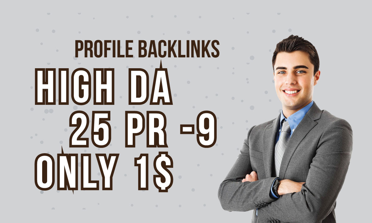 Manually DA 80+ All Pr9 25 Safe SEO High Profile Back...