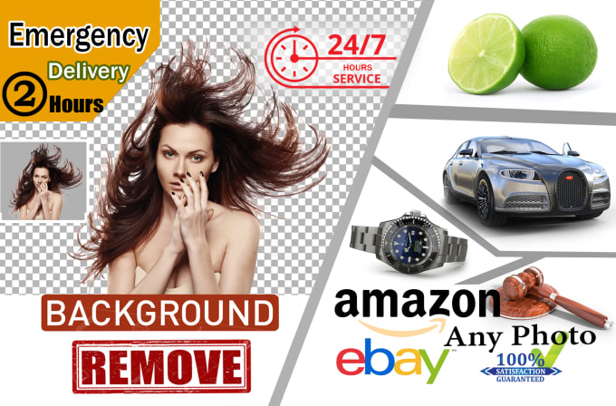Remove Backgrounds 100 Images