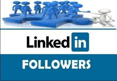Buy 100+ Real & Active LinkedIn Followers for LinkedIn Company & Profile Account or All Social Media Service offer here