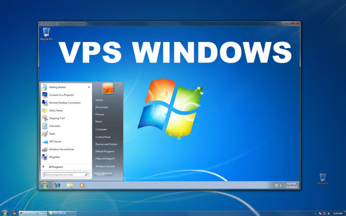 4 x RDP vps windows 1 GB RAM 1 Core, for hitleap or bot