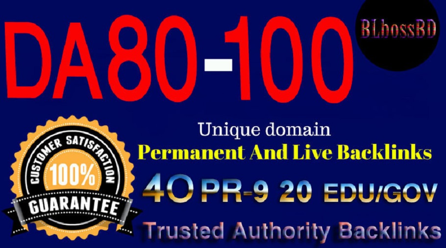 Build 80+DA SERP SEO Profile Backlinks Create For Ranking your Website, URL or Blog