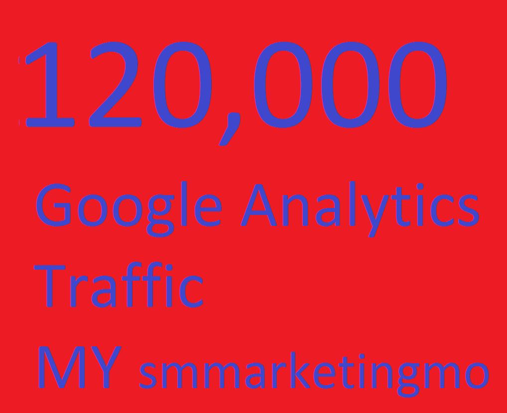 120,000 Website worldwide full 100% Guarantee Google Analytics traffic