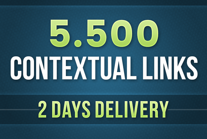 Will Do 5500 Contextual Tiered Backlinks For SEO Ranking