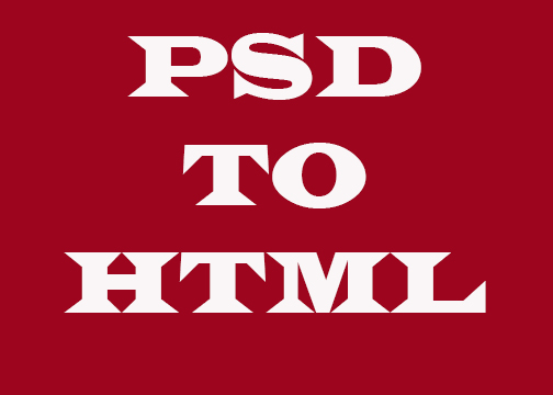 Convert PSD to Html by using Bootstrap, Html, Css