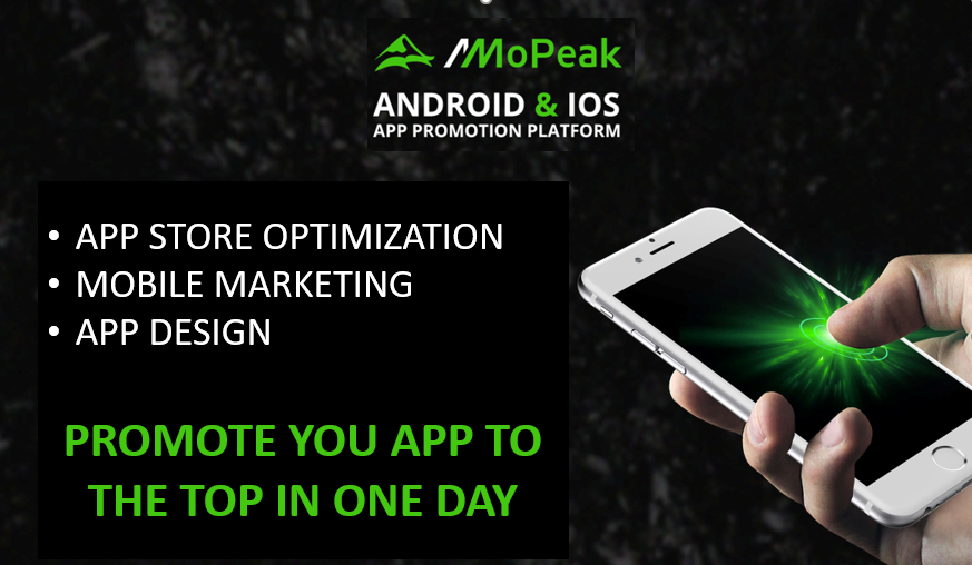 Promote your app with ASO and premium Graphics Design
