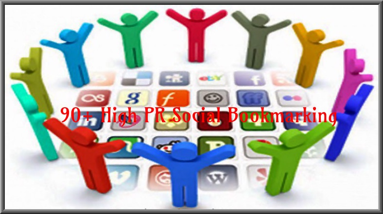 will manually submit your website to 110 Social Bookmarking