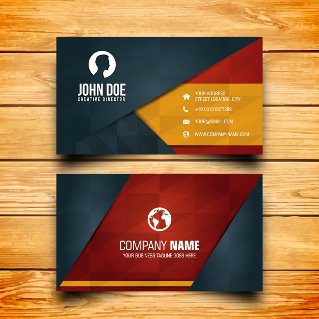 Do Amazing  professional business card in 12HR