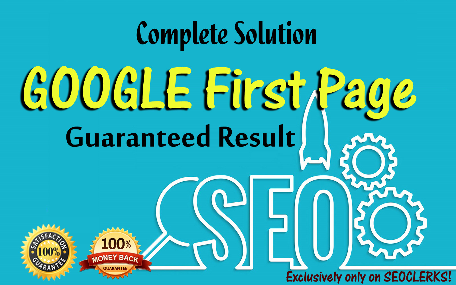 Complete Solution of google first page rankings
