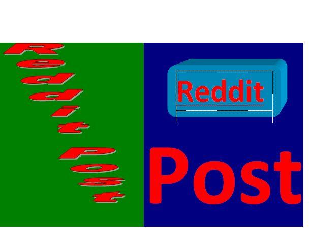 Active 1 Reddit post Backlink with Real Traffic