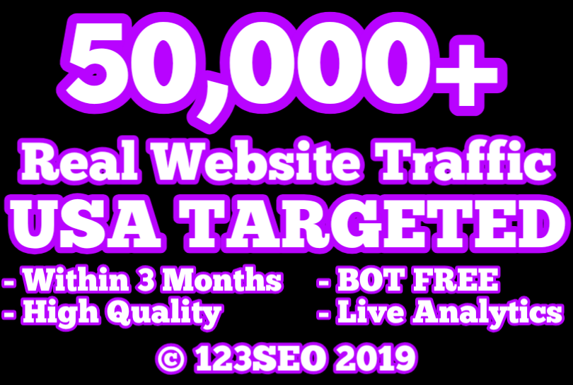 50,000 USA TARGETED Website Traffic