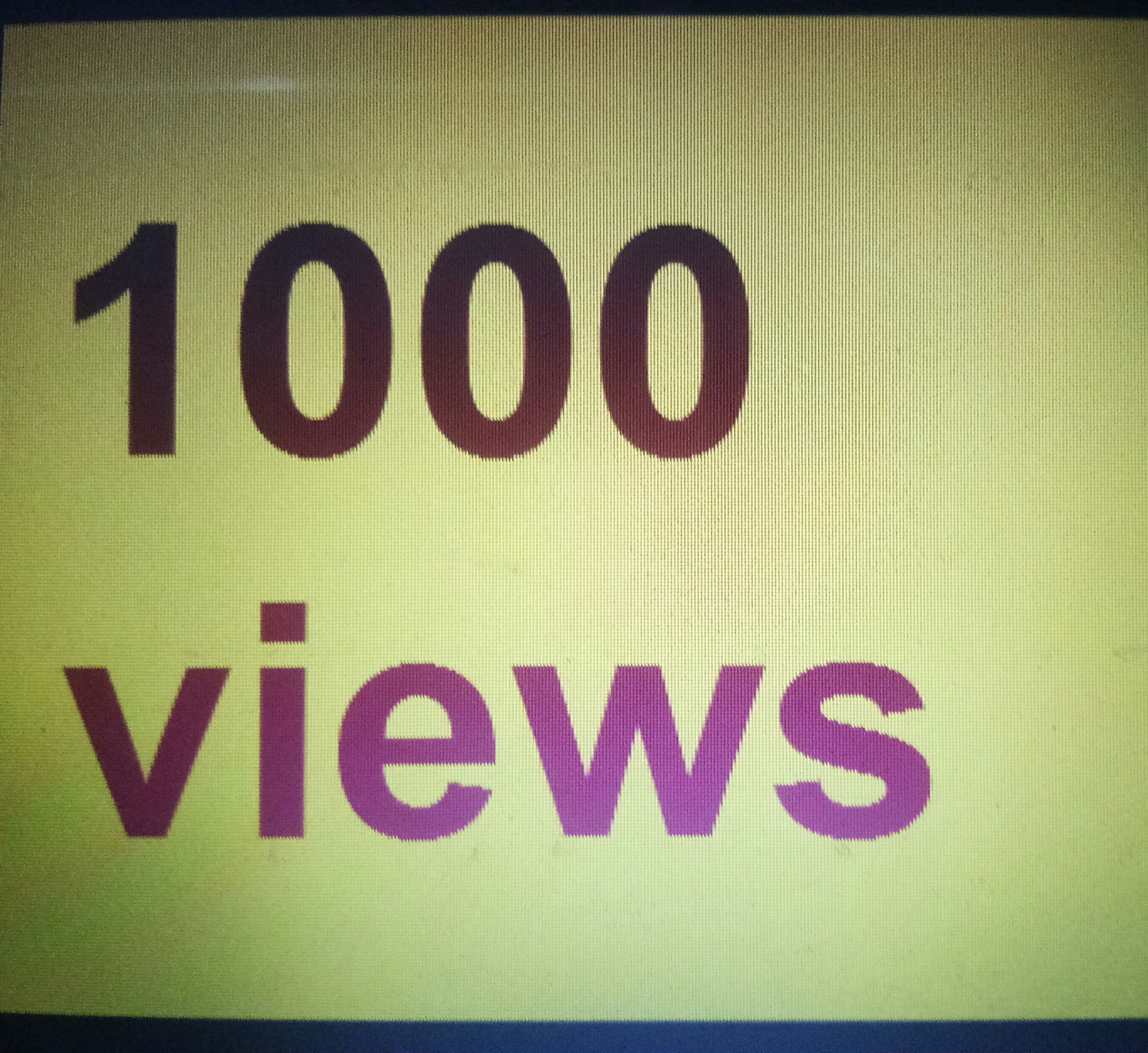 1000 Youtube service   1-48 Hours Complete