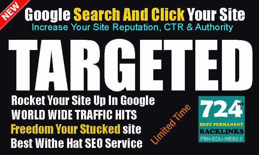 Search Targeted Keywords Real Traffic Visitors Servic...