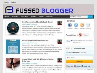 Fussed Blogger
