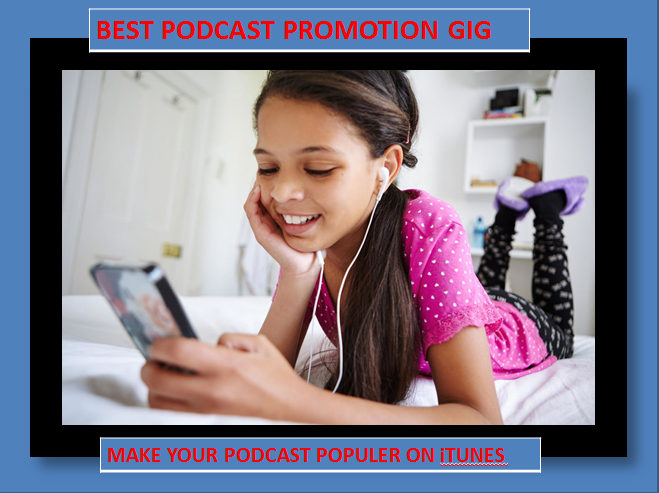 promote and get top ranking for your podcast
