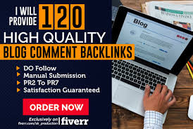 Manually 100 Blog Comment Backlinks highpr actual pag...