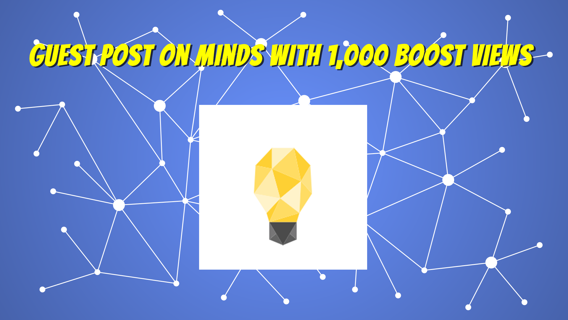 Publish and Write Guest Post on Minds DA87 With Boost Views