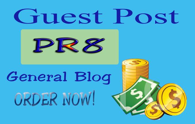Guest Post On PR8 Dof0llow DA 90+ High-Authority Site
