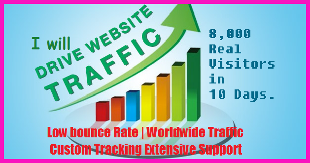 drive low bounce rate traffic on your website