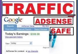 send 100000 Adsense Safe Visitors to your Website/blogs only