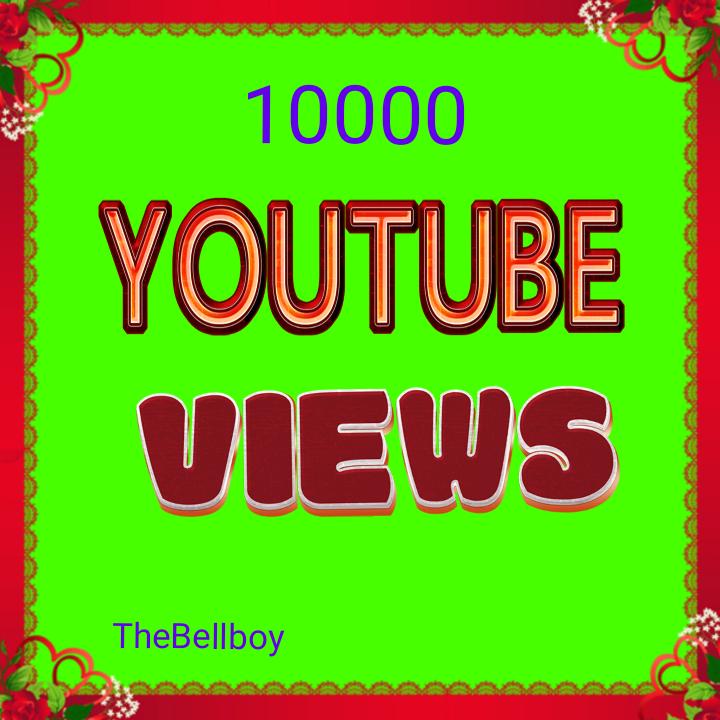 10000 High Quality Views Instant Start