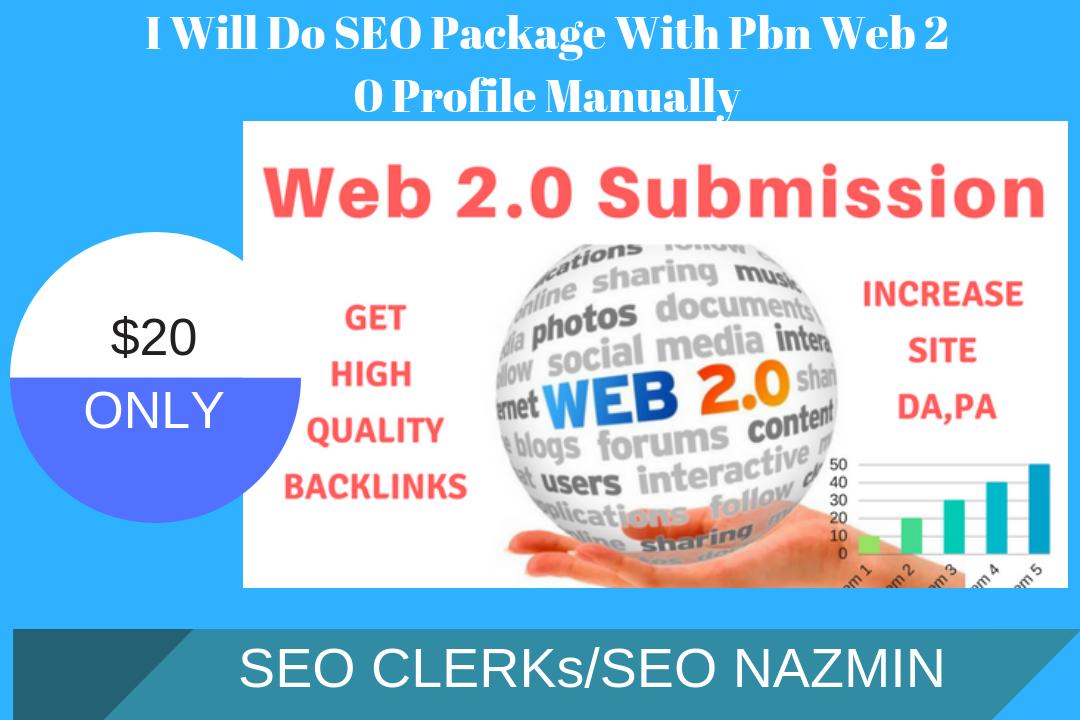 Do 100 Pbn Web 2 0 Profile Manually