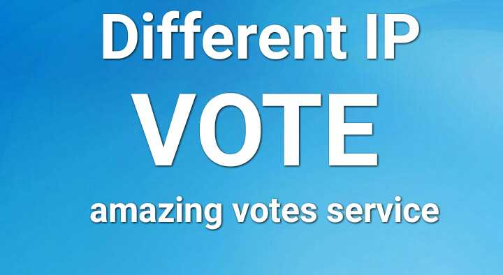 manage your 200 Different IP votes for your Online Voting Contest