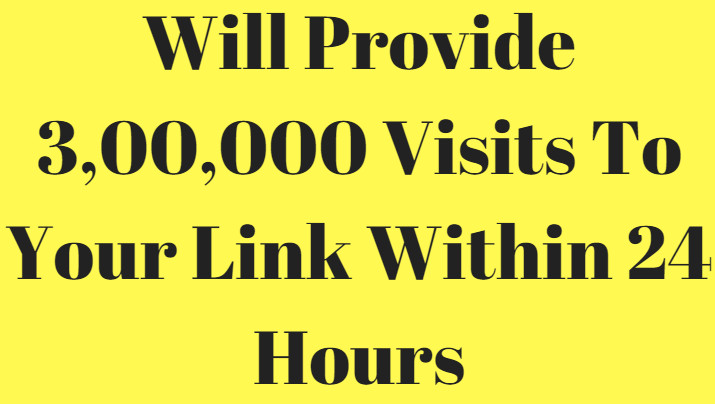 300,000 Visitors In 24 Hours