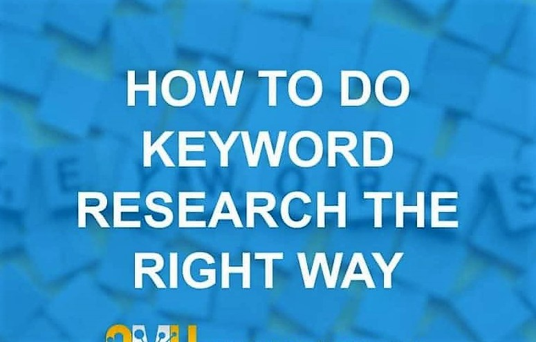do keyword research and competitor analysis for your target