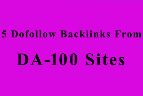 6 Dofollow PBN Backlinks From DA60 Sites