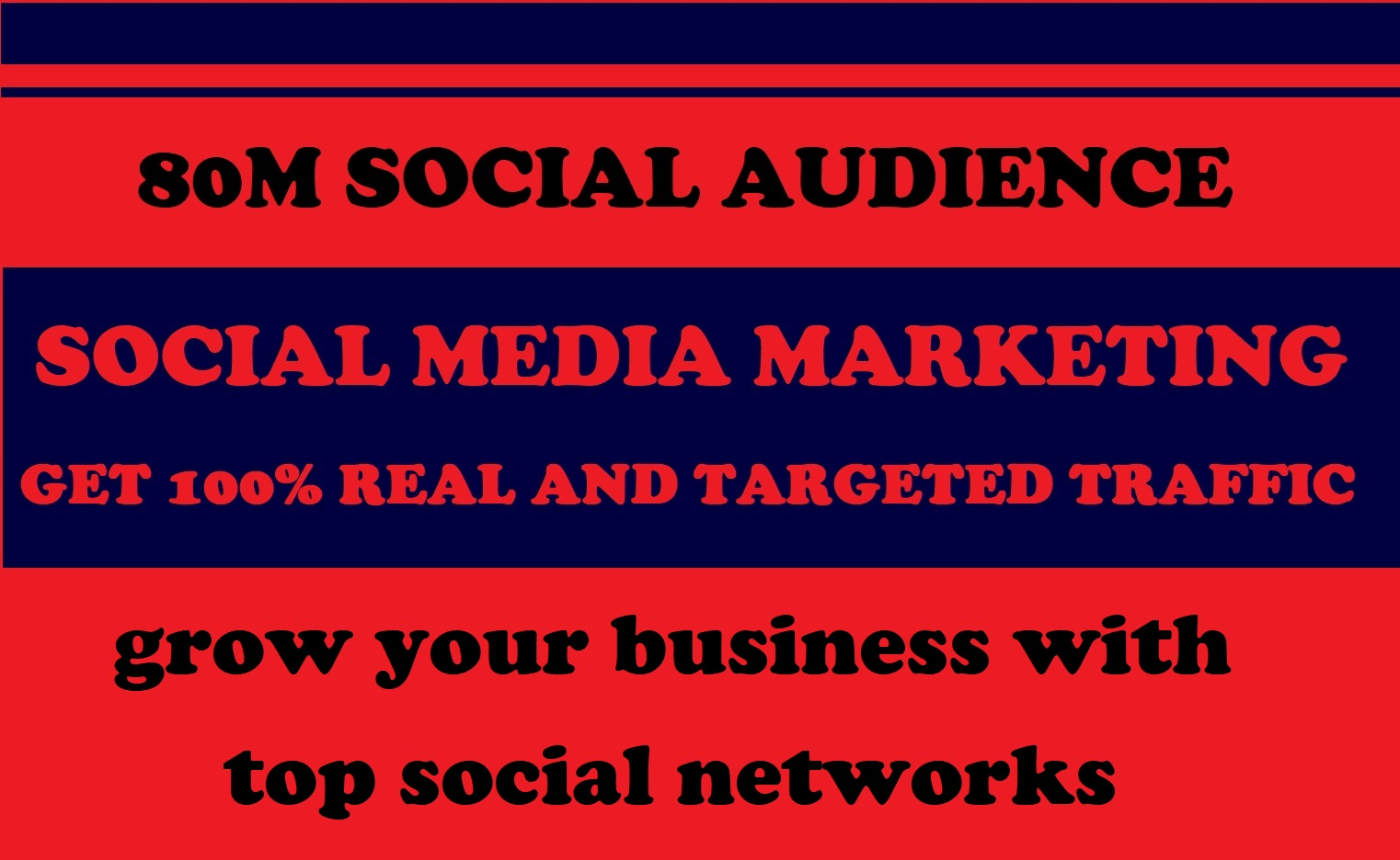 80 million audience social media communities  promote your links on top 7 networks