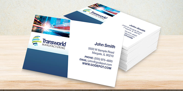 Design Business card with two concepts