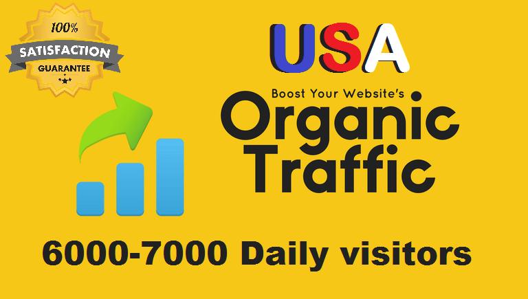 50,000 Organic USA Website Traffic