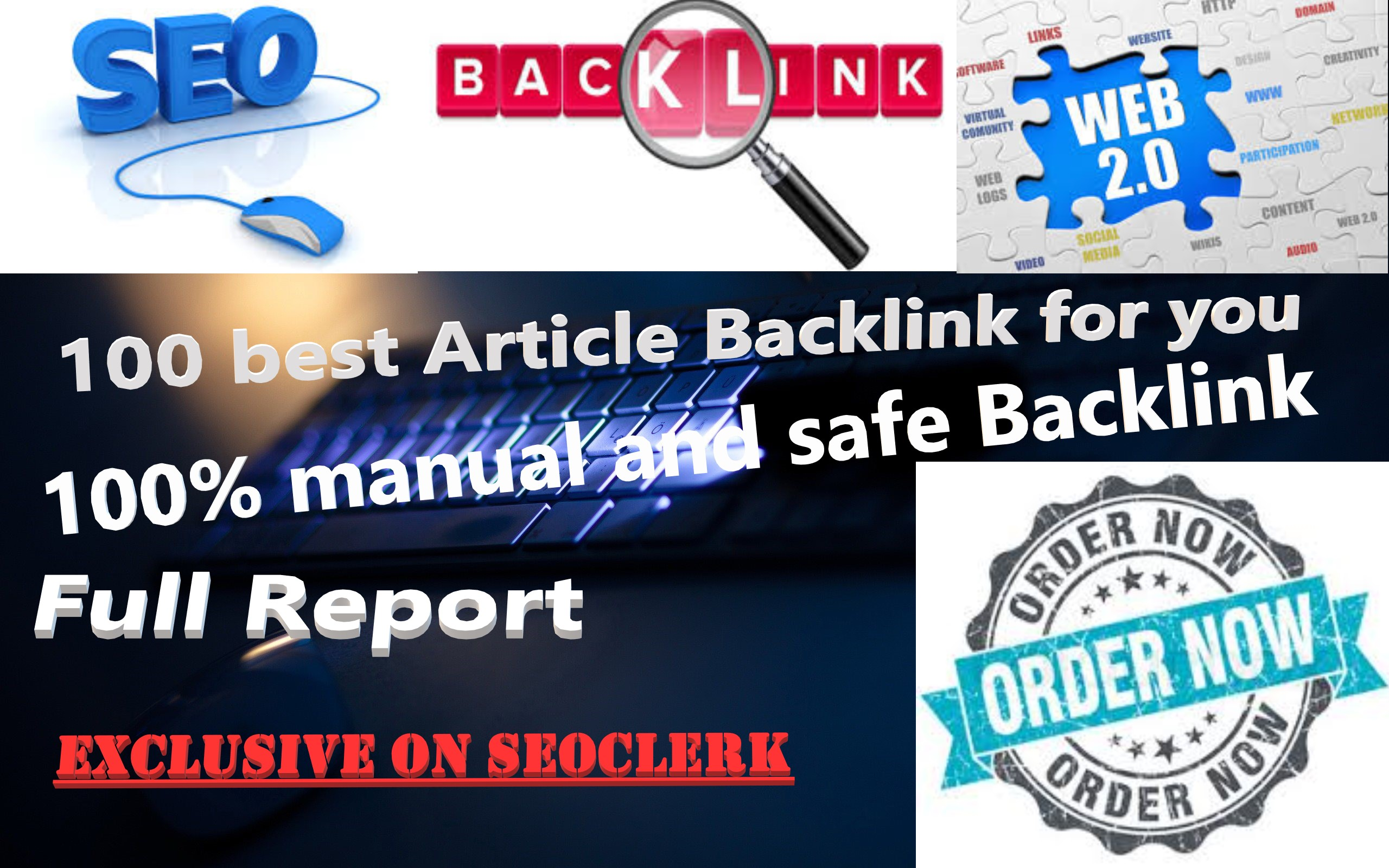 100 high quality Article Backlink SEO on well ranked ...