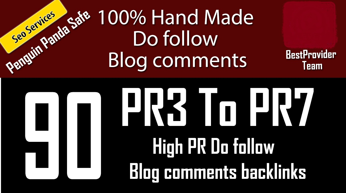 i do 90 blog comments backlinks