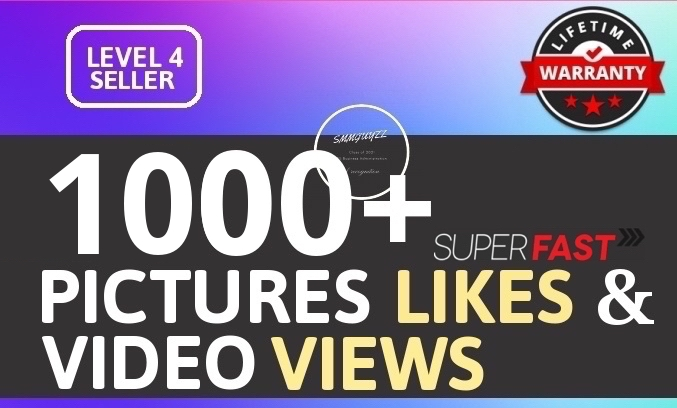 Add 1000+ High Quality Likes and Views