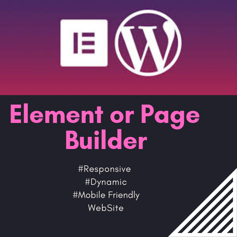 I Will Create Dynamic Website With Free Elementor