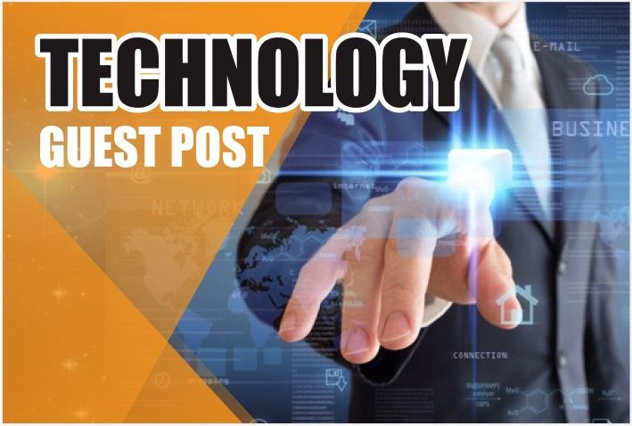 Guest Post on TECHNOLOGY blog DA 35