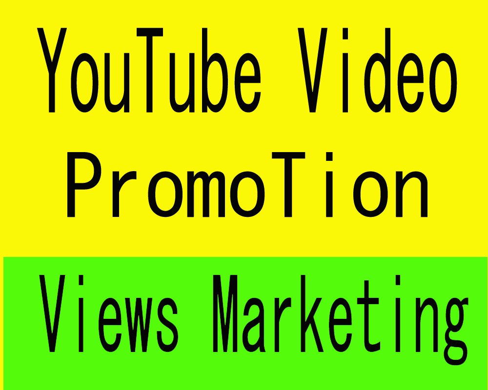 Organic YouTube Video Marketing social Media Promotion and Music Google Seo ranking