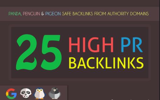 Provide 90+ DA 25 Pr9 High Quality SEO Domain Authority Permanent Backlinks