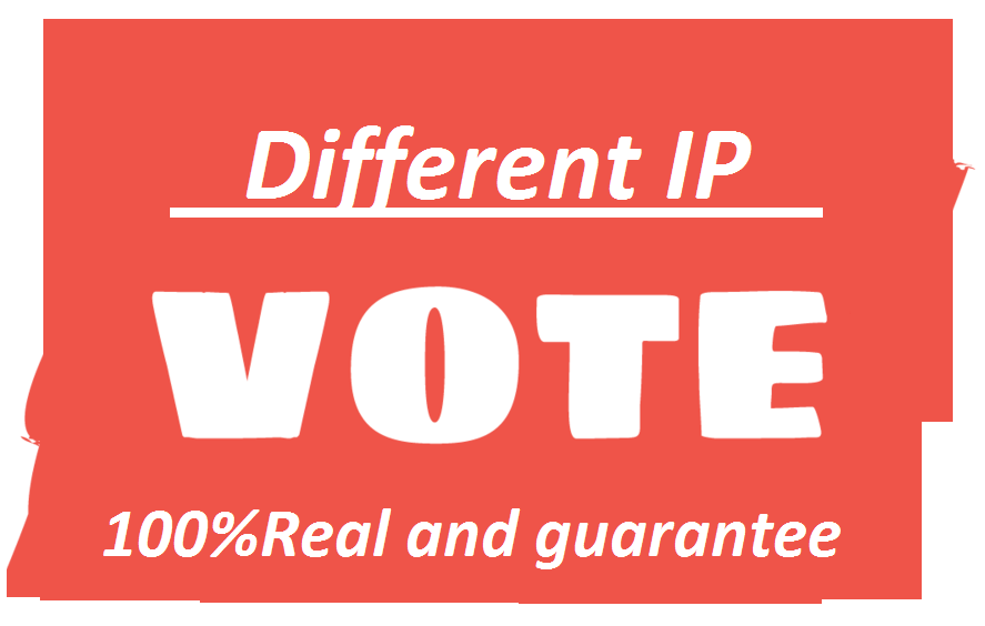 I can provide 200 Different IP votes your online contest
